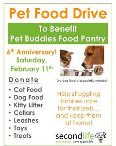 pet food drive - 6th annivesary - 2017 image